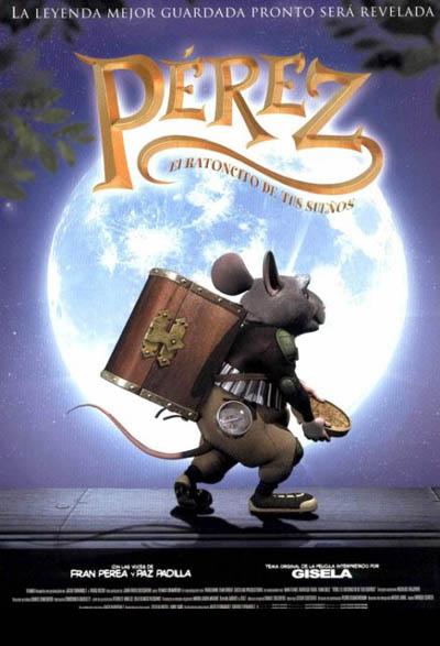 Пригоди мишеняти переса el raton perez 2006